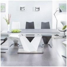 Valgomojo stalas ST1808 akmens efektas