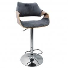 Kėdė BAR2368 švieisiai pilka