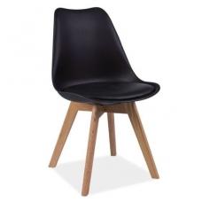 Kėdė KED2682 juoda (ąžuolinė)