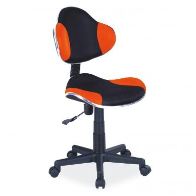 Kėdė KEDO2544 juoda+oranžinė