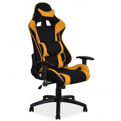 Kėdė KEDO2552 juoda+geltona