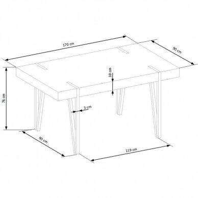 Valgomojo stalas H4654 7