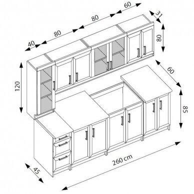 Virtuvės komplektas H4815 2